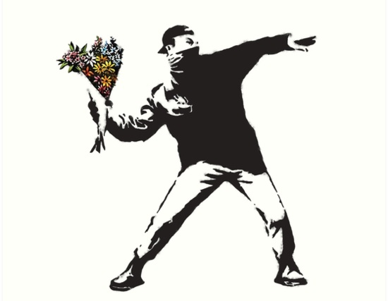 Art by Banksy
